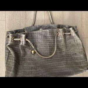 Furla Carmen Embossed Leather bag